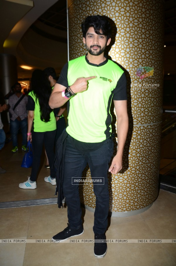 Aditya Redij at the Promotions of Team Mumbai Tigers at Edward Maya Concert