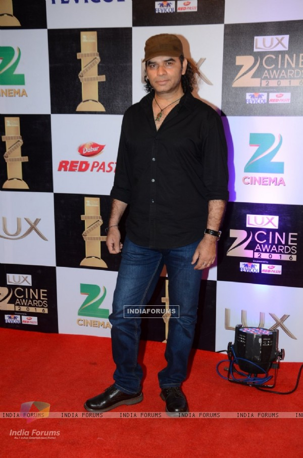 Mohit Chauhan at Zee Cine Awards 2016