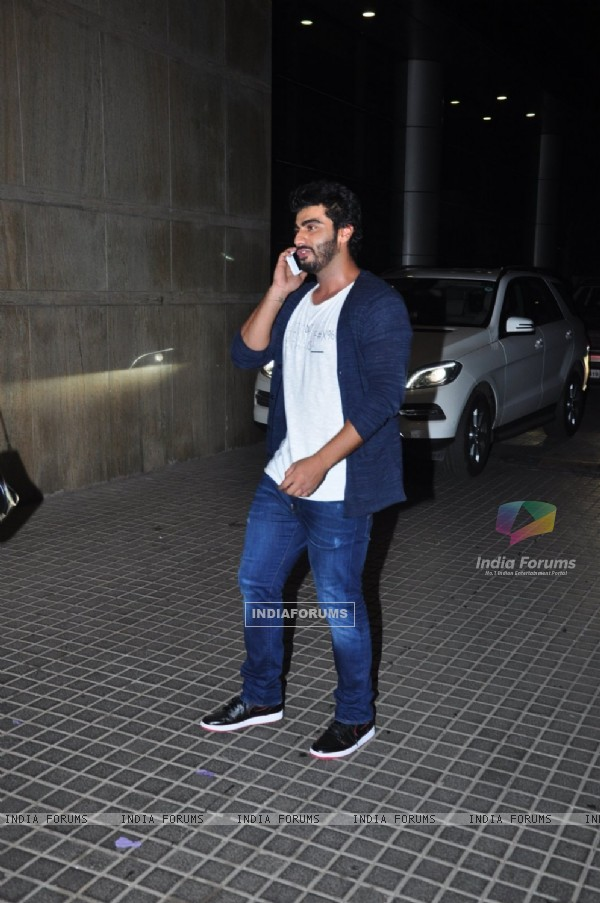 Arjun Kapoor at Special Screening Of Alibaba Film