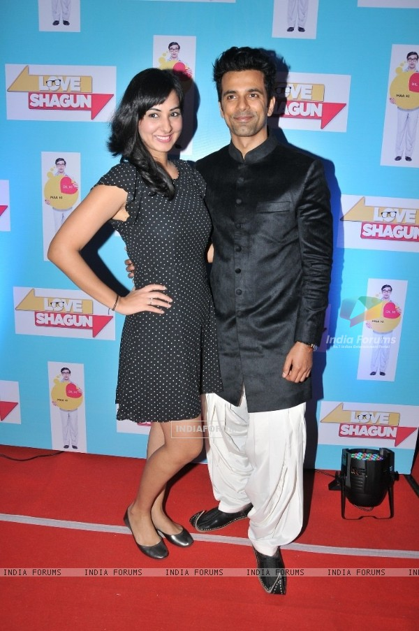 Sakshi Gulati and Anuj Sachdeva at Special Screening of 'Love Shagun'
