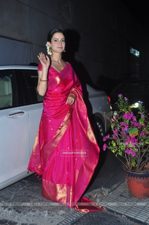 Kangana Ranaut at Dr. Agarwal's Daughter's Wedding