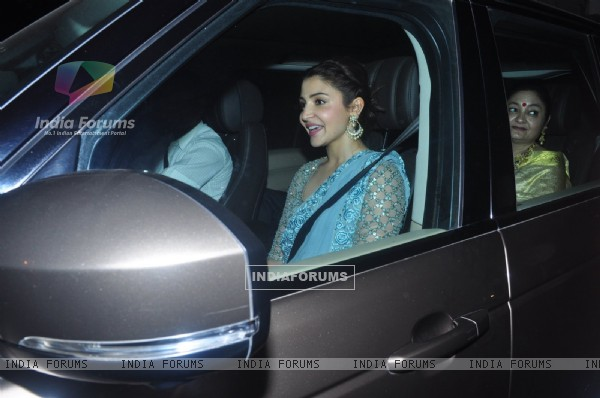 Anushka Sharma at Dr. Agarwal's Daughter's Wedding