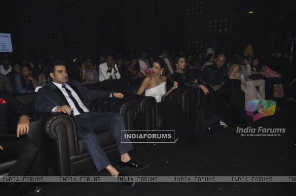 Arbaaz Khan and Malaika Arora Khan were snapped at the Finale Shoot of Power Couple