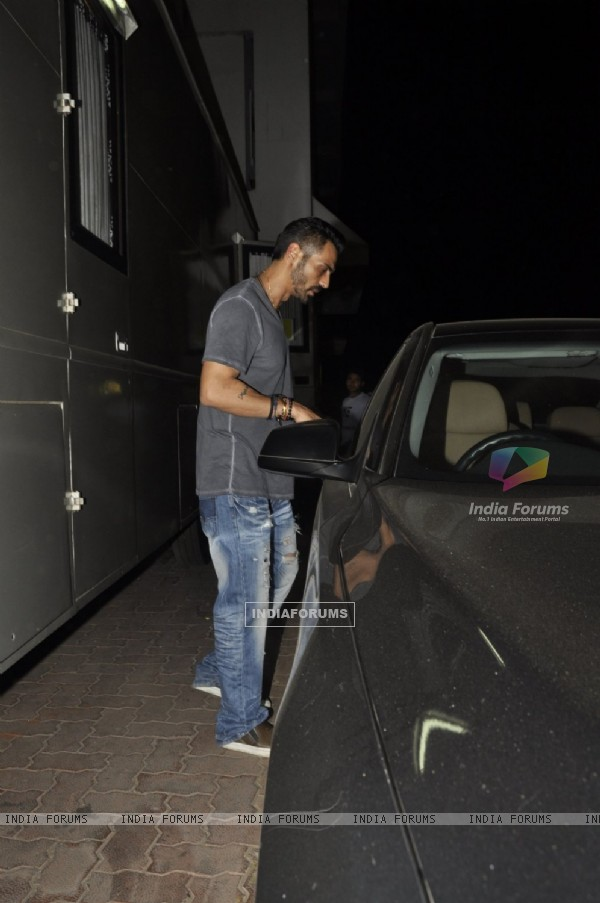 Arjun Rampal was Snapped at 'Filmcity'