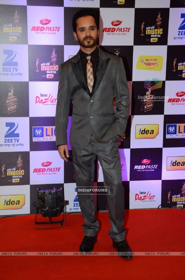 Raghav Sachar at Mirchi Music Awards 2016