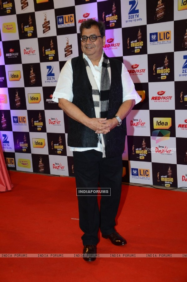 Subhash Ghai at Mirchi Music Awards 2016