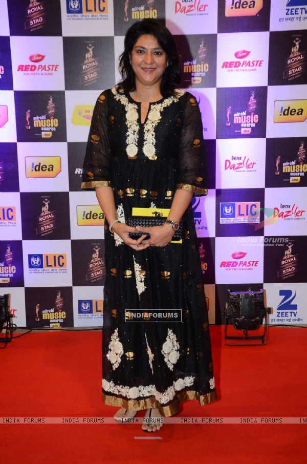 Priya Dutt at Mirchi Music Awards 2016