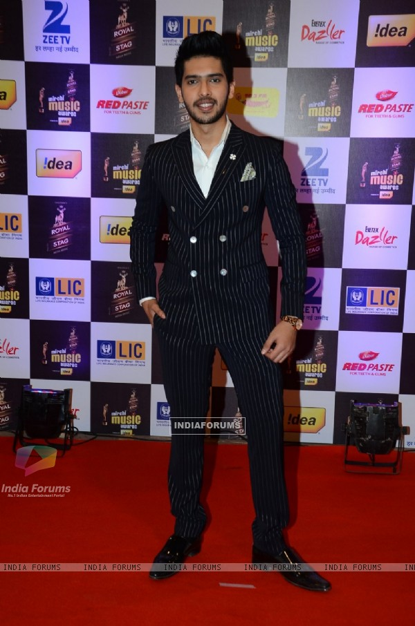 Armaan Malik at Mirchi Music Awards 2016