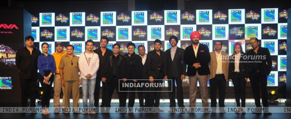 Launch of 'The Kapil Sharma Show'