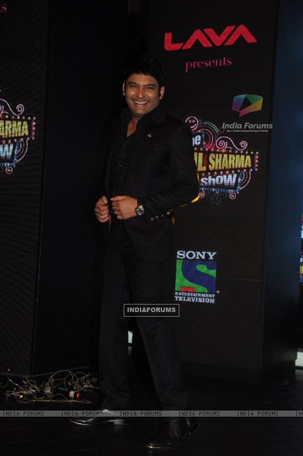 Kapil Sharma at the Launch of 'The Kapil Sharma Show'