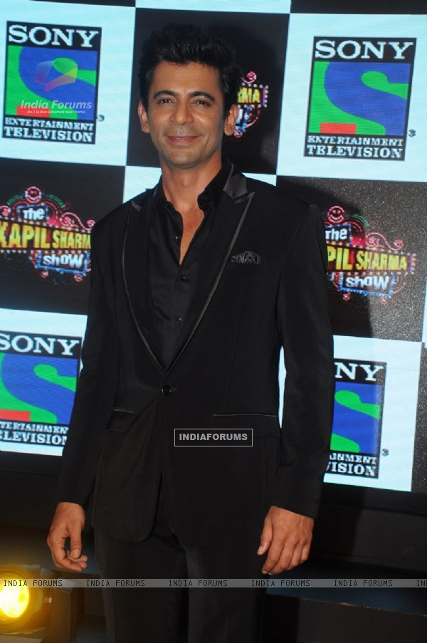 Sunil Grover at the Launch of 'The Kapil Sharma Show'