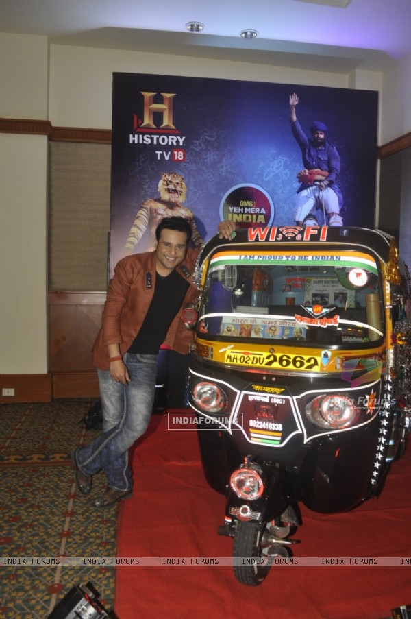 Krushna Abhishek at Launch of New Show 'OMG! Yeh Mera India'