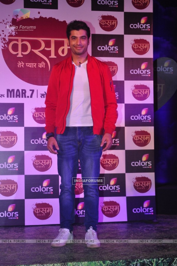 Ssharad Malhotra at the Launch of Colors' New Show 'Kasam Tere Pyaar Ki'