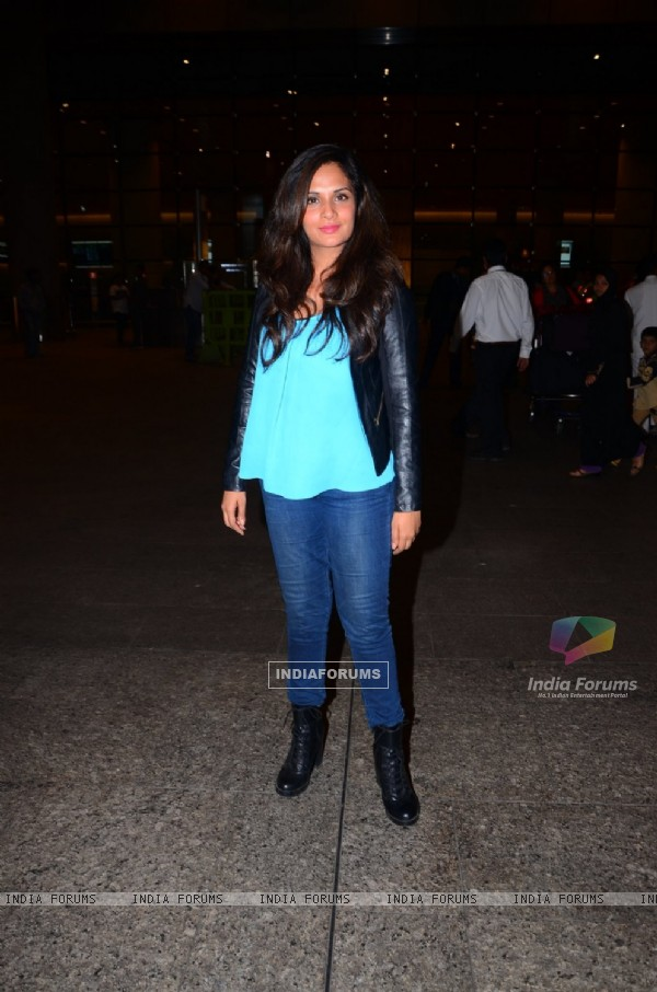 Richa Chaddha Spotted at Airport!