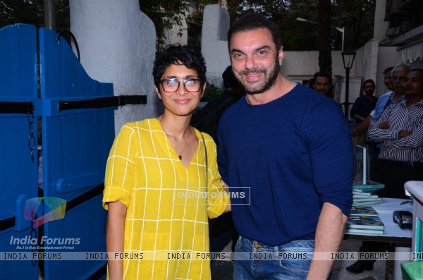 Arbaaz Khan with Kiran Rao at Launch of Maria Goretti's Book 'From my kitchen to yours'