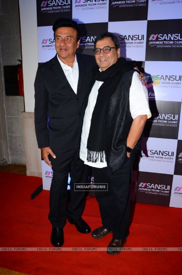 Subhash Ghai at Anu Malik's Felicitation Ceremony for recieving The Pride of Industry Award