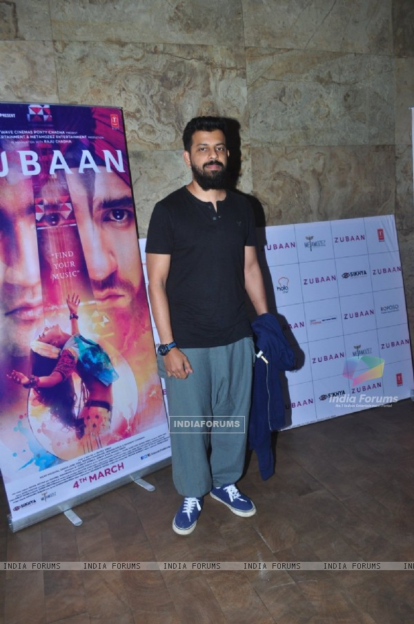 Bejoy Nambiar at Special Screening of the film Zubaan