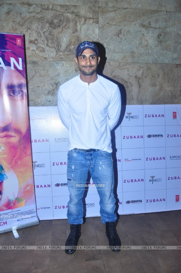 Prateik Babbar at Special Screening of the film Zubaan