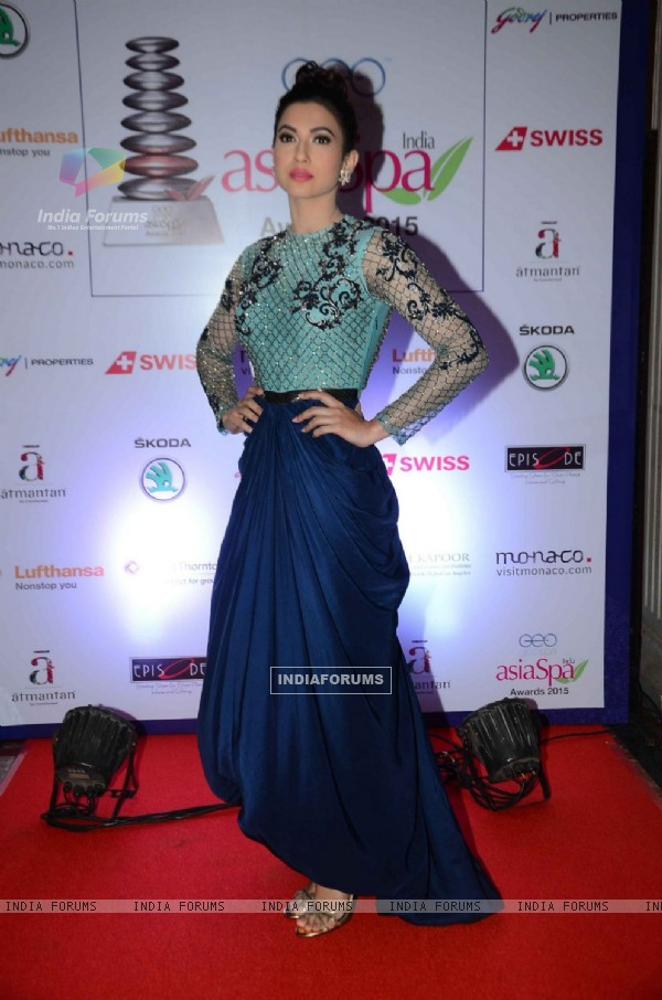 Gauahar Khan at Asia Spa Awards