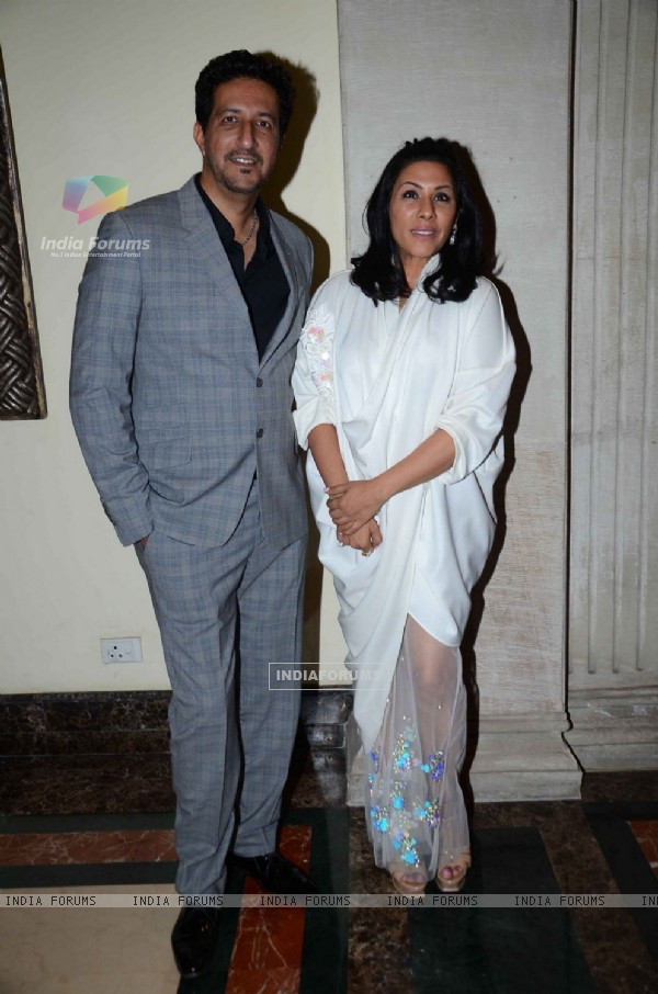 Music Composer Sulaiman Merchant with Wife at Asia Spa Awards