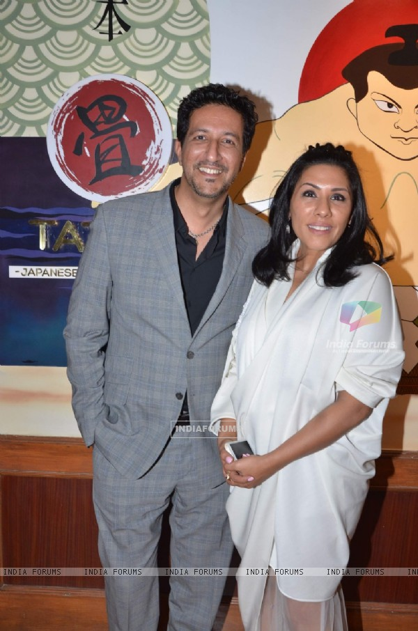 Sulaiman Merchant at Tatami Restaurant Launch