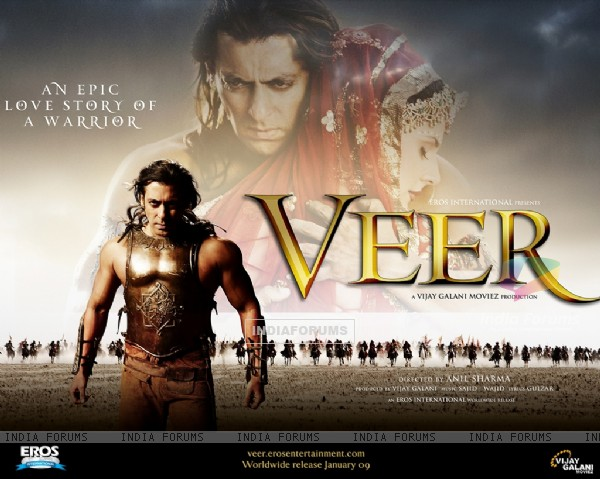 Wallpaper of the movie Veer