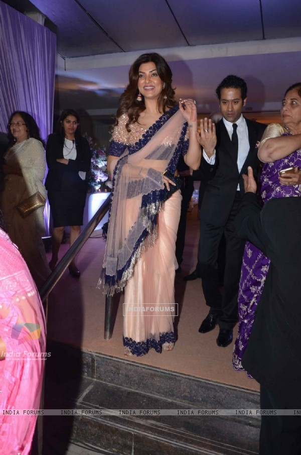 Sushmita Sen at Kresha Bajaj's Wedding