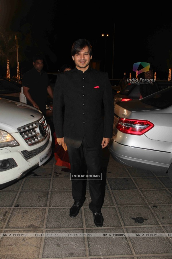 Vivek Oberoi at Kresha Bajaj's Wedding