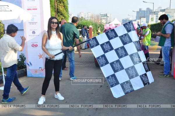 Patralekha  Flags Off 'Times Women's Drive'