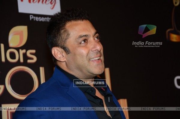 Salman  Khan at Golden Petal Awards 2016