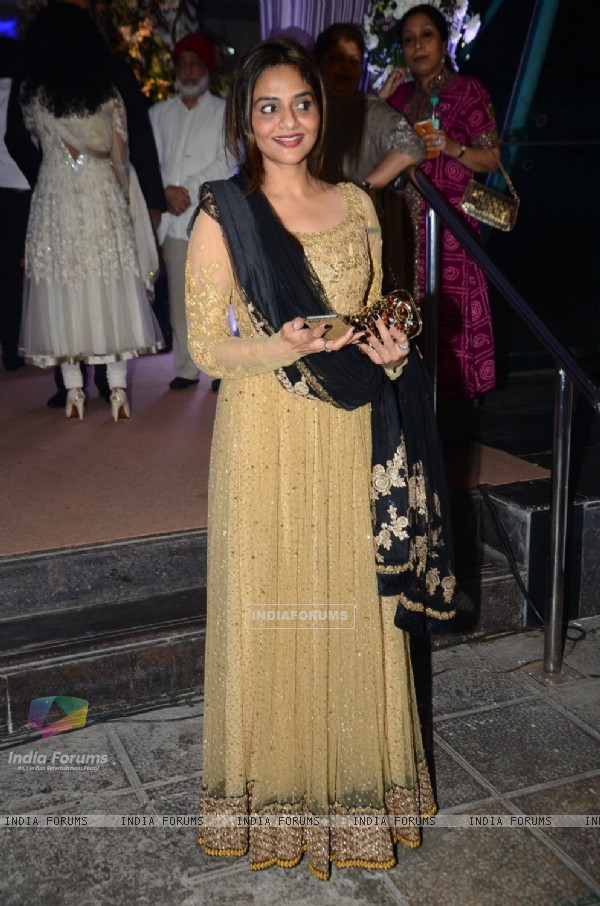Madhoo at Kresha Bajaj's Wedding