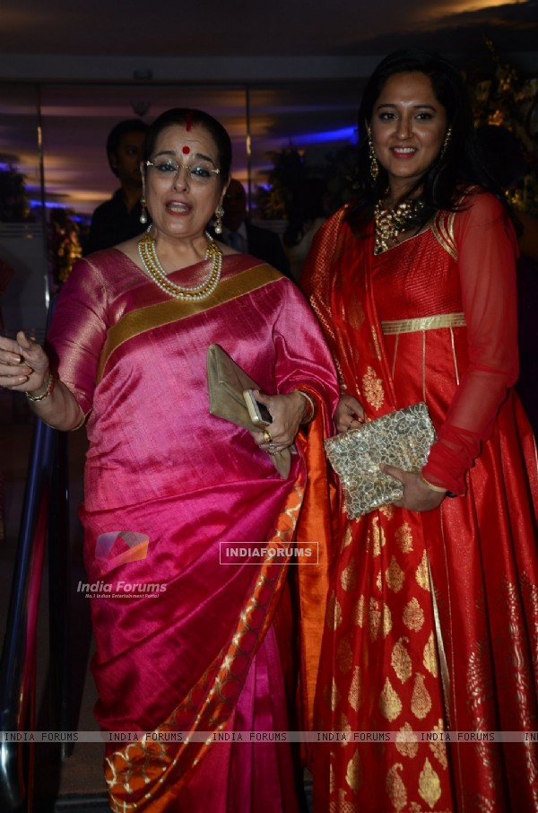 Poonam Sinha at Kresha Bajaj's Wedding