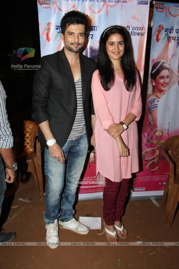 Raqesh Vashisht for Promotion of his Marathi Movie 'Vrundavan'