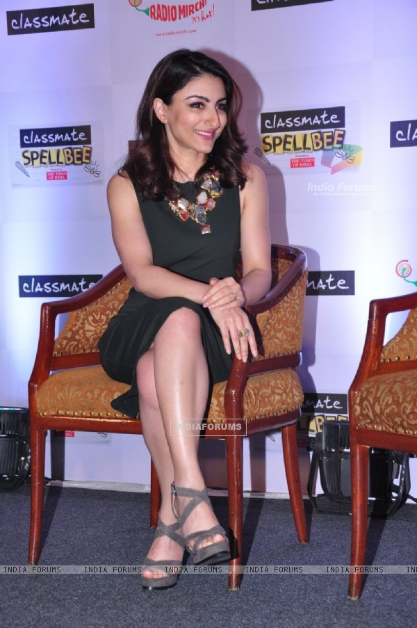 Soha Ali Khan at Spell Bee Event