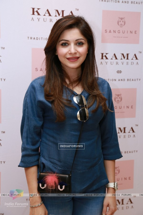 Kanika Kapoor at Kama Ayurveda's Women's Day Celebration