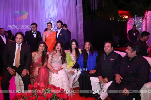 Celebs at Awdesh Dixit's Indore Bash