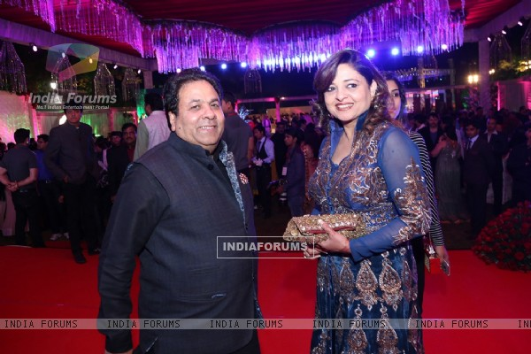 Rajeev Shukla at Awdesh Dixit's Indore Bash