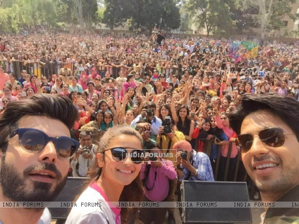 Promotions of Kapoor & Sons at Chandigarh