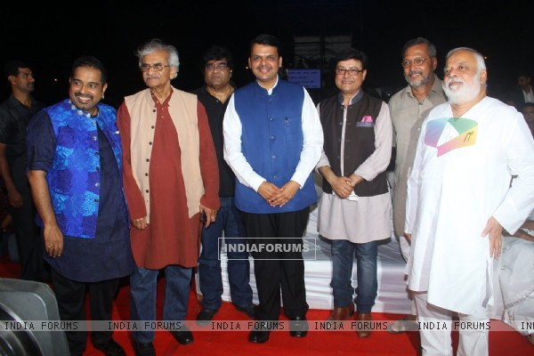 Celebs at Zee Marathi Event