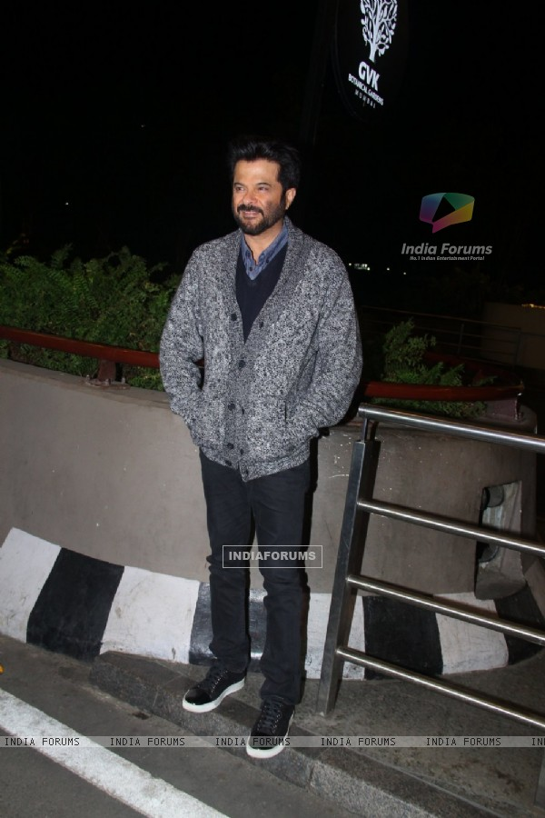 Anil Kapoor leave for IIFA Press Meet