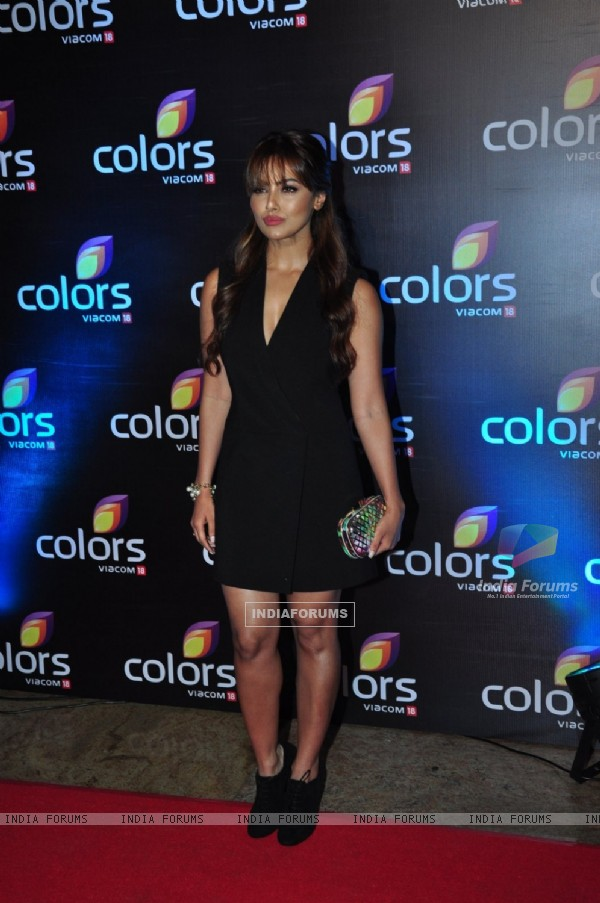 Sana Khan at Colors TV's Red Carpet Event