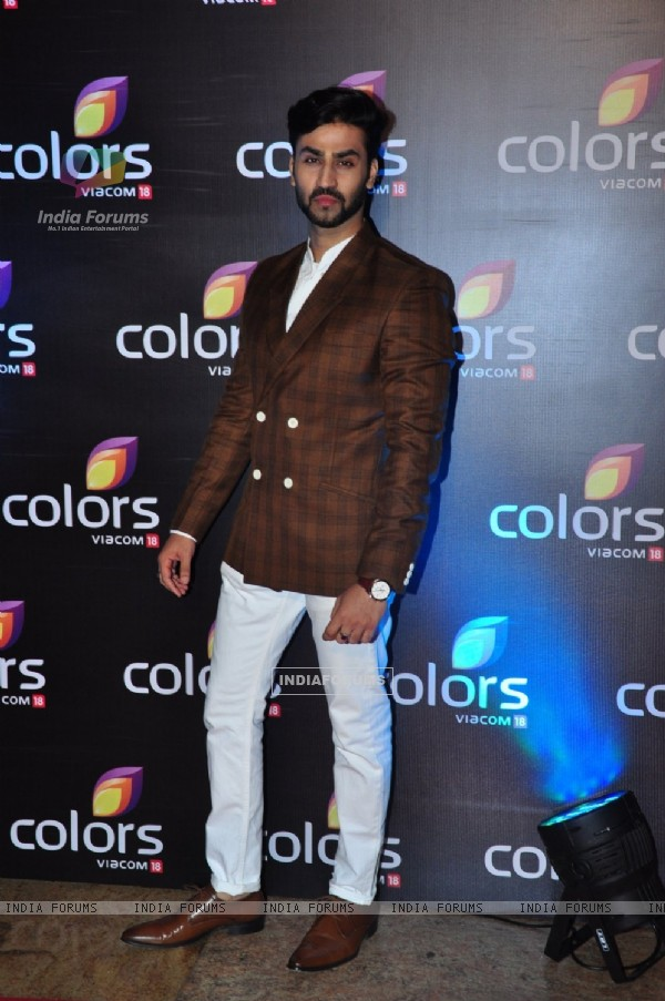 at Colors TV's Red Carpet Event