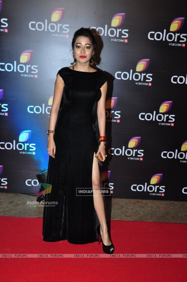 Tina Dutta at Colors TV's Red Carpet Event