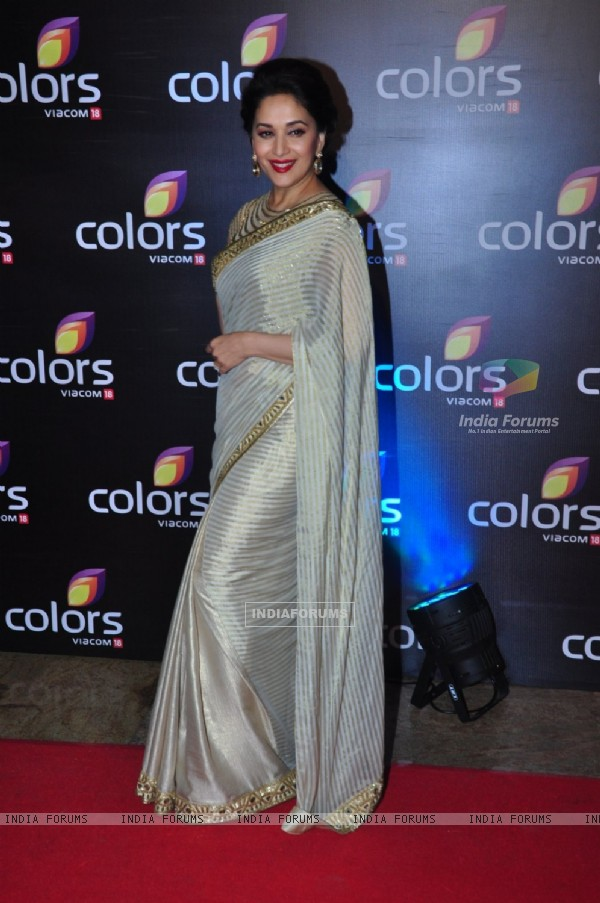Madhuri Dixit Nene at Colors TV's Red Carpet Event