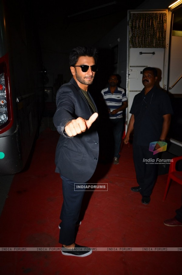 Ranveer Singh Snapped around the City