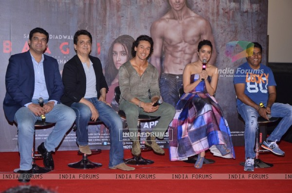 Celebs at Trailer Launch of 'Baaghi'