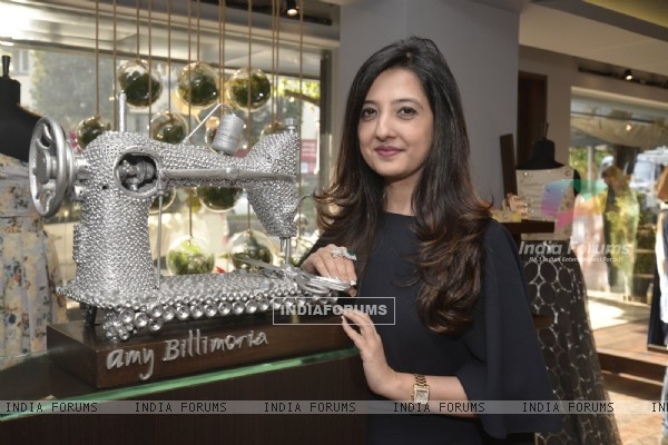 Designer Paul Jheeta  launched his label at Amy Billimoria House of Design