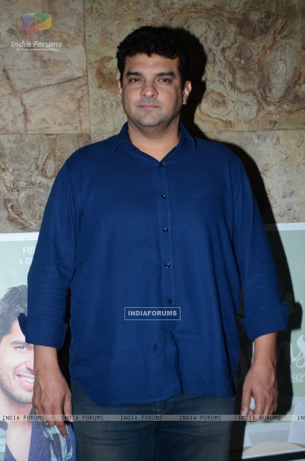 Siddharth Roy Kapur at Special Screening of Kapoor & Sons
