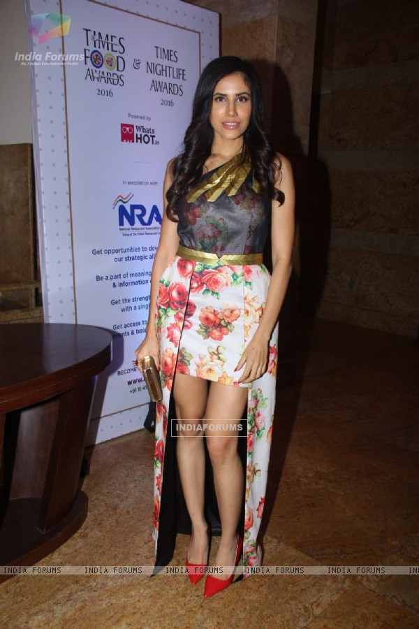 Sonnalli Seygall at Times Food Awards