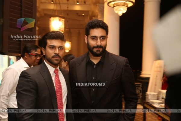 Abhishekh Bachchan at Magic Bus Charity Dinner at Falaknuma Palace